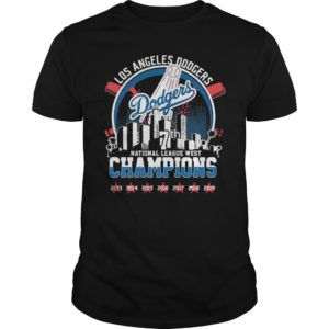 Los Angeles Dodgers 7th National League West Champions Shirt