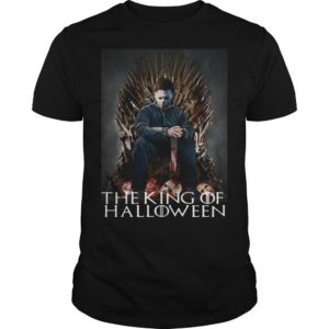 Michael Myers On Iron Thrones The King Of Halloween Shirt