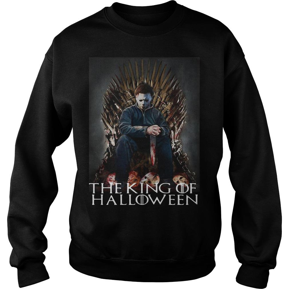 Michael Myers On Iron Thrones The King Of Halloween Sweater