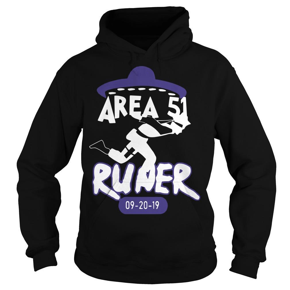 Naruto Alien Runner Area 51 Hoodie