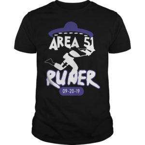Naruto Alien Runner Area 51 Shirt