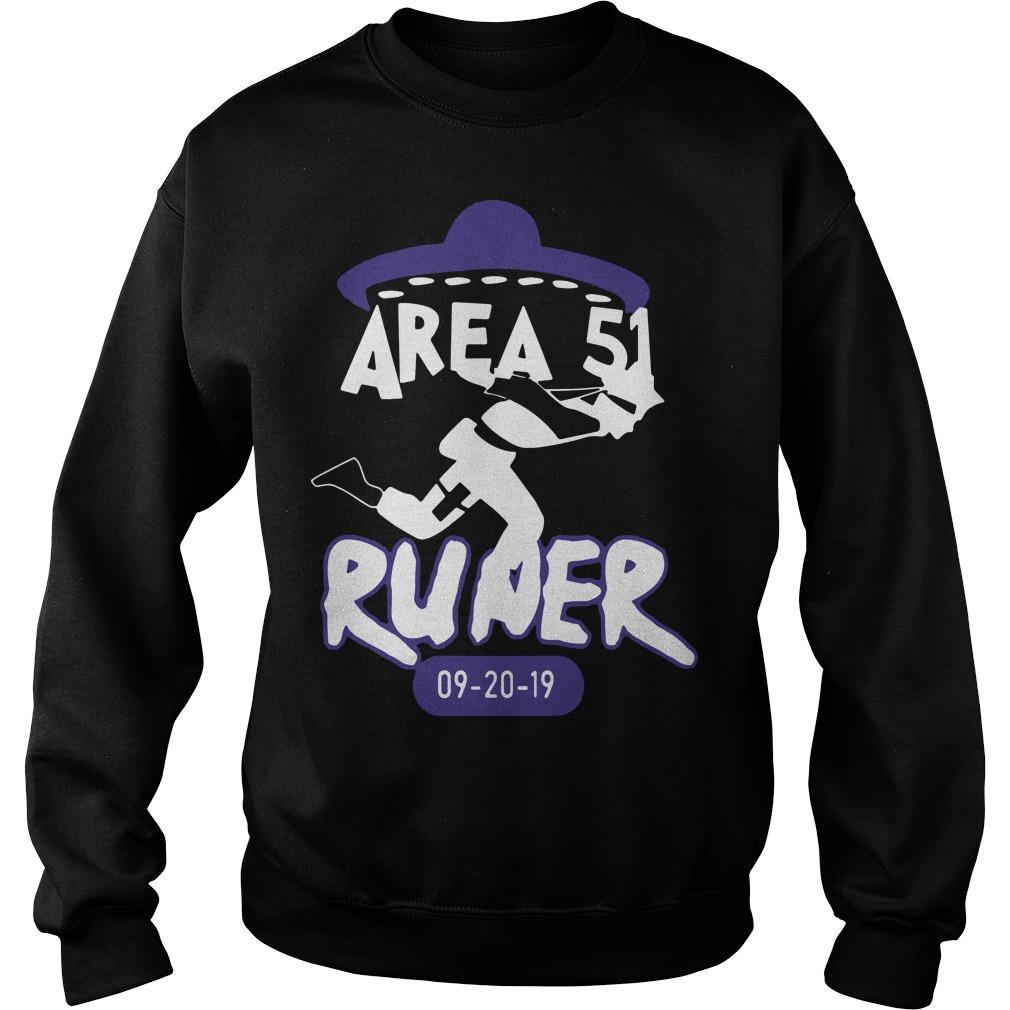 Naruto Alien Runner Area 51 Sweater