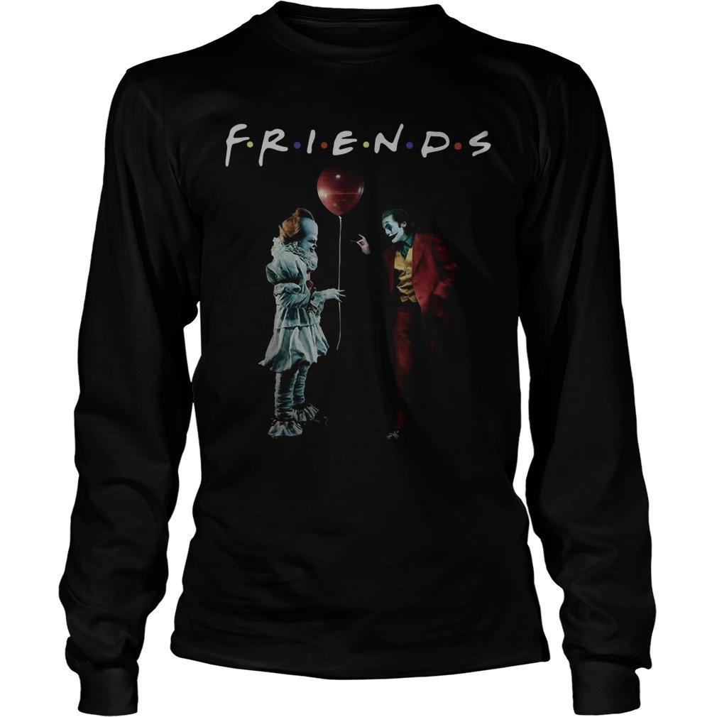 Pennywise Joker Friends Tv Show Longsleeve