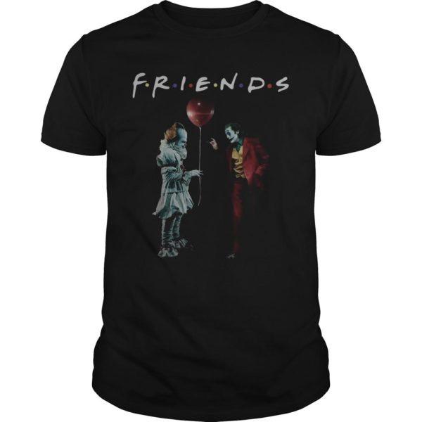 Pennywise Joker Friends Tv Show Shirt