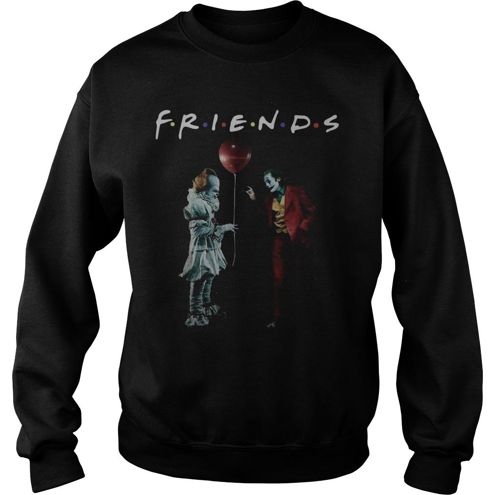 Pennywise Joker Friends Tv Show Sweater