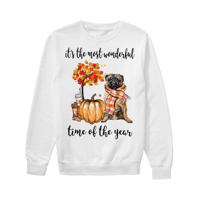 Pug It's The Most Wonderful Time Of The Year Sweater