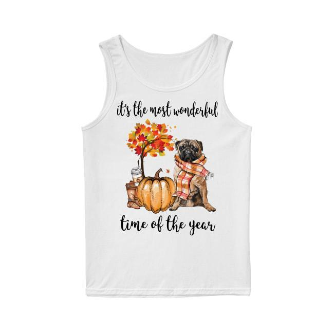 Pug It's The Most Wonderful Time Of The Year Tank Top