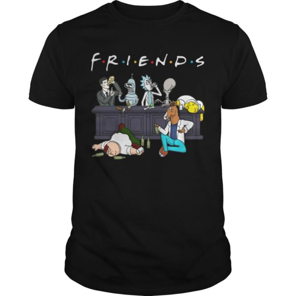 Rick And Morty Friends Tv Show Shirt