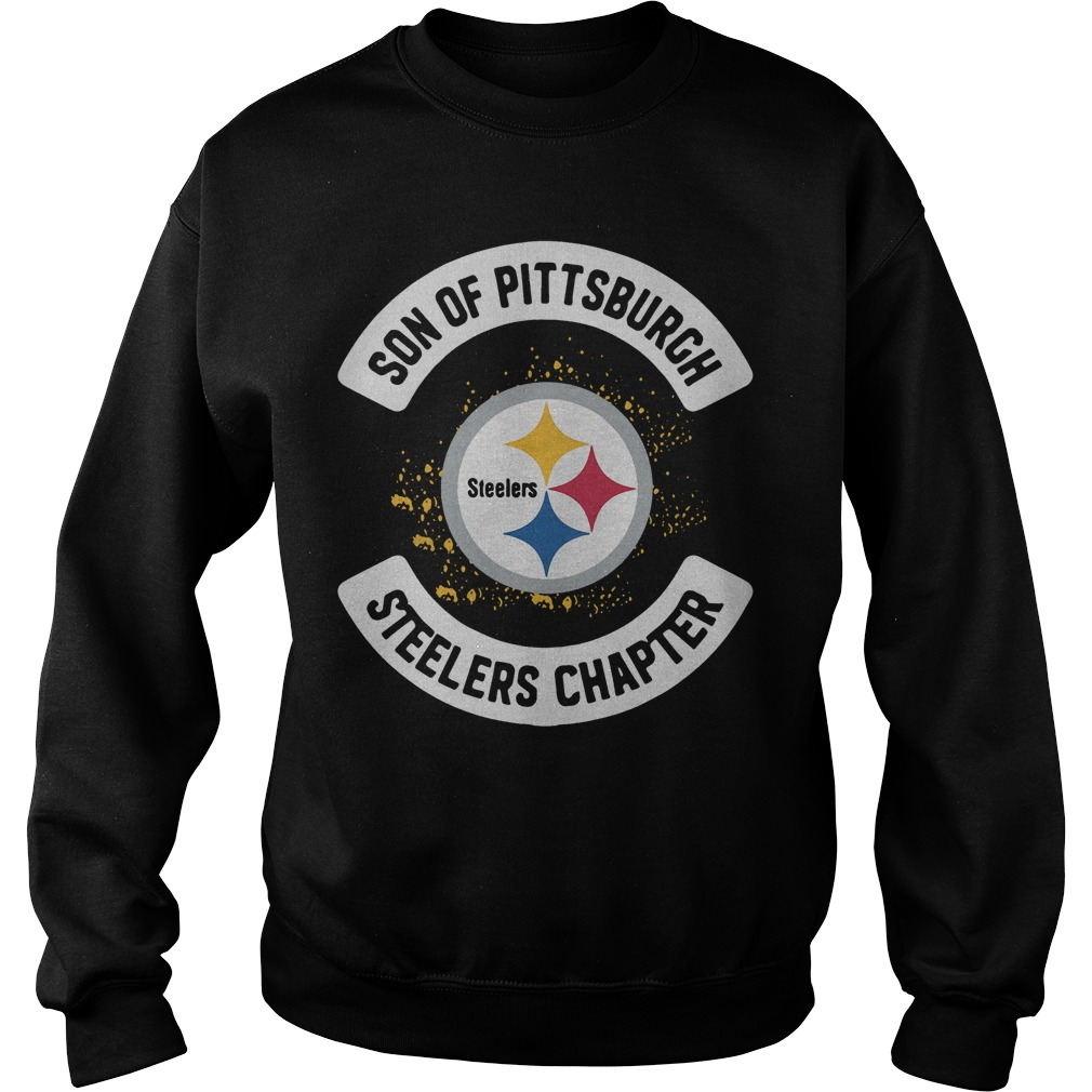 Son Of Pittsburgh Steelers Chapter Sweater
