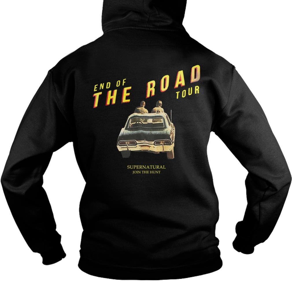 Supernatural End Of The Road Hoodie