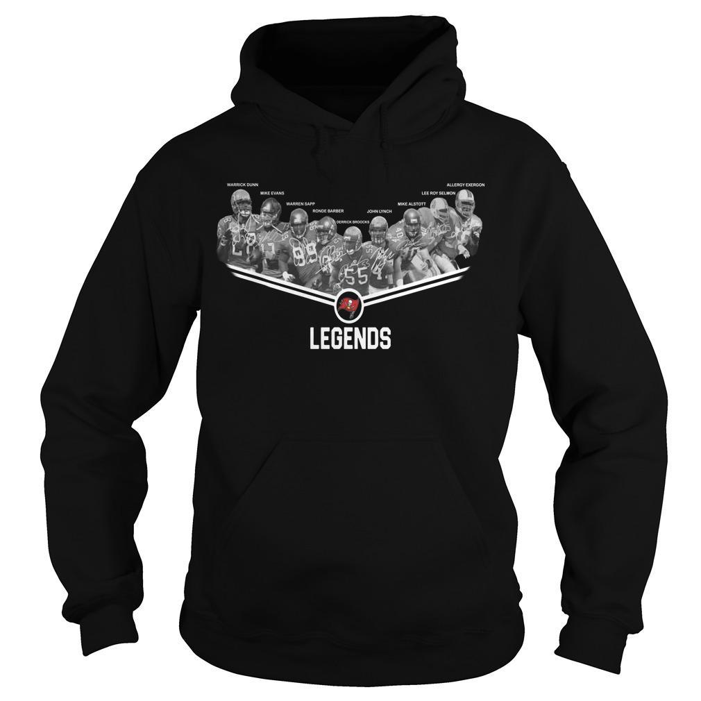 Tampa Bay Buccaneers Team Legends Hoodie