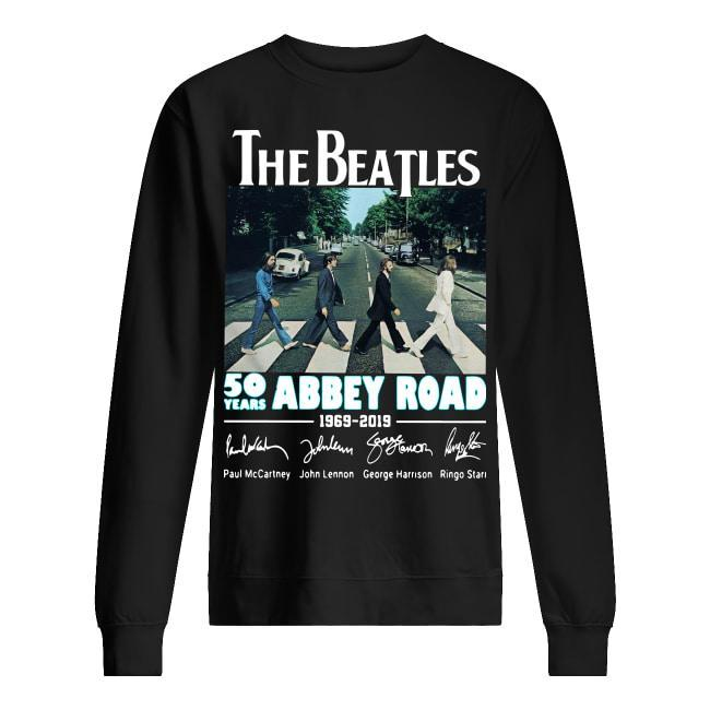 The Beatles 50 Years Abbey Road 1969 2019 Sweater