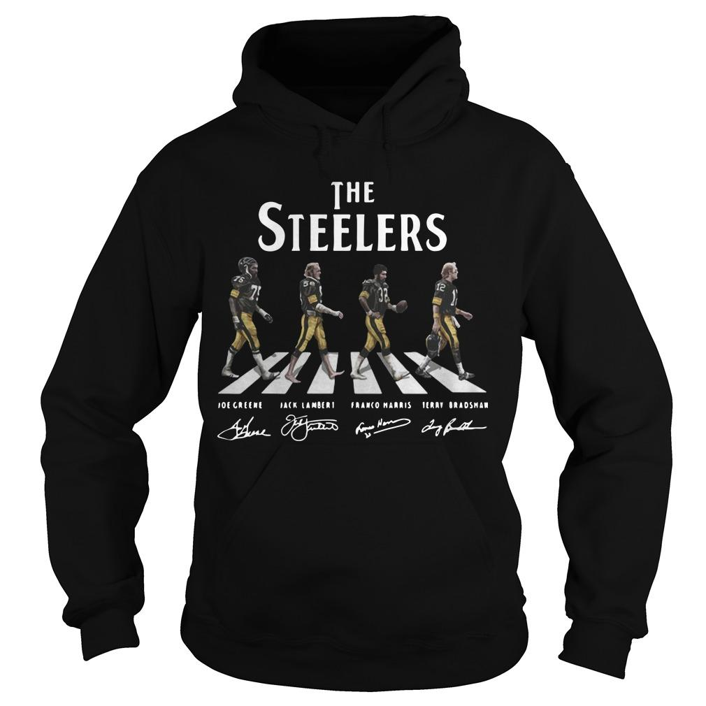 The Steelers Abbey Road Signatures Hoodie