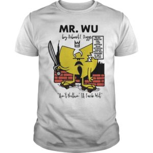 Wu Tang Clan Mr. Wu By Robert Diggs