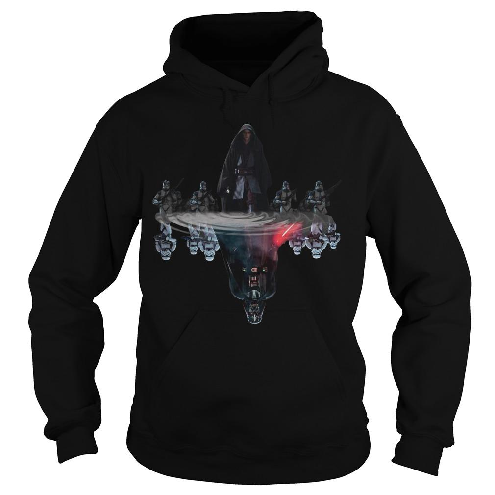 Anakin Skywalker Darth Vader Water Reflection Hoodie