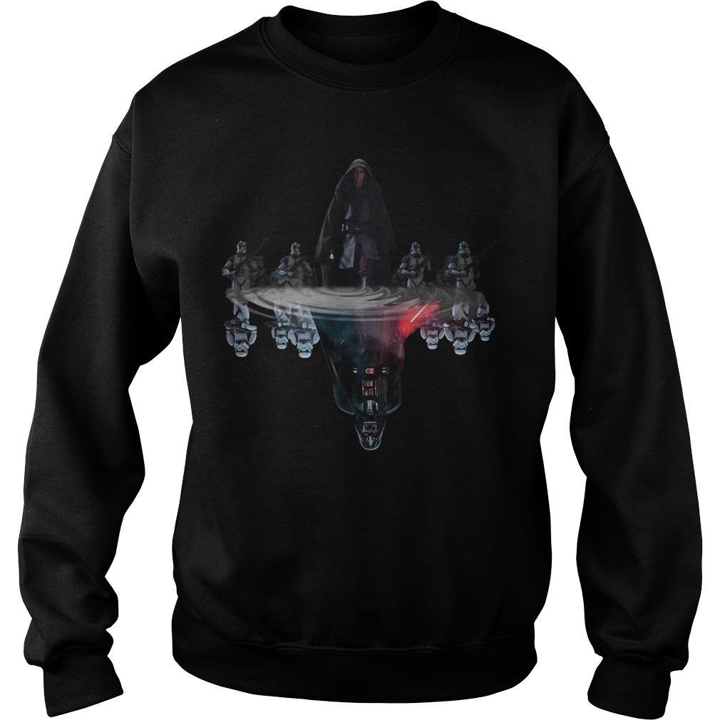 Anakin Skywalker Darth Vader Water Reflection Sweater
