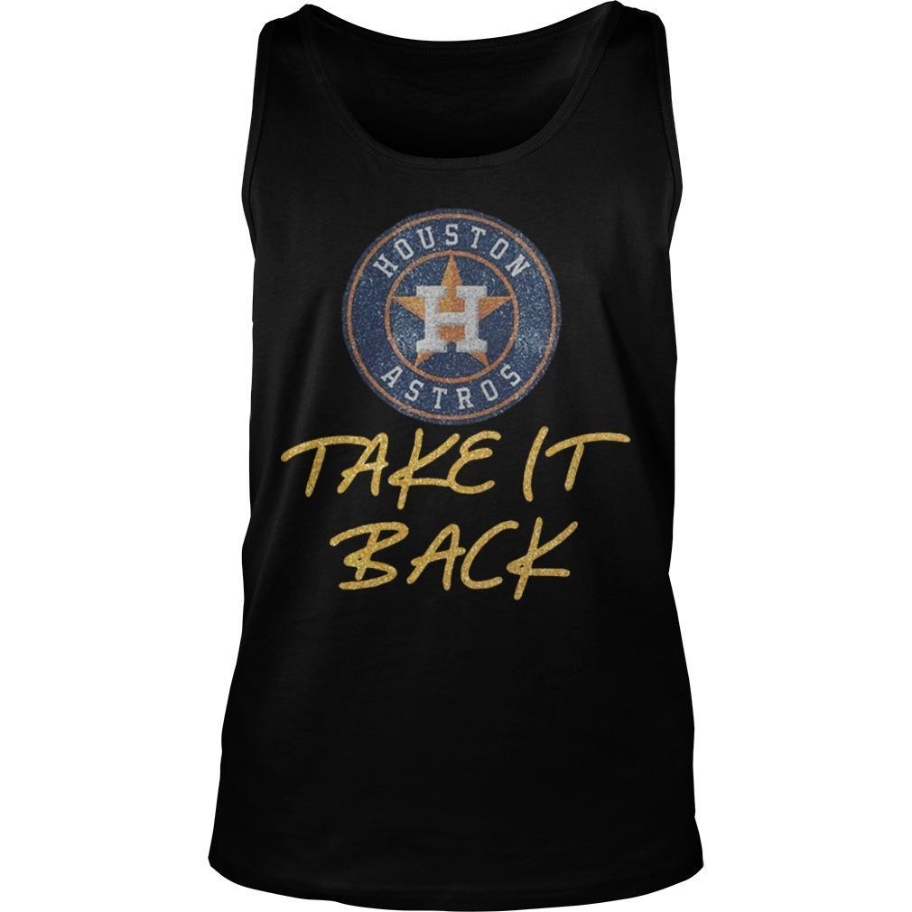 Astros Take It Back Tank Top