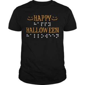 Braille Dots Happy Halloween Shirt