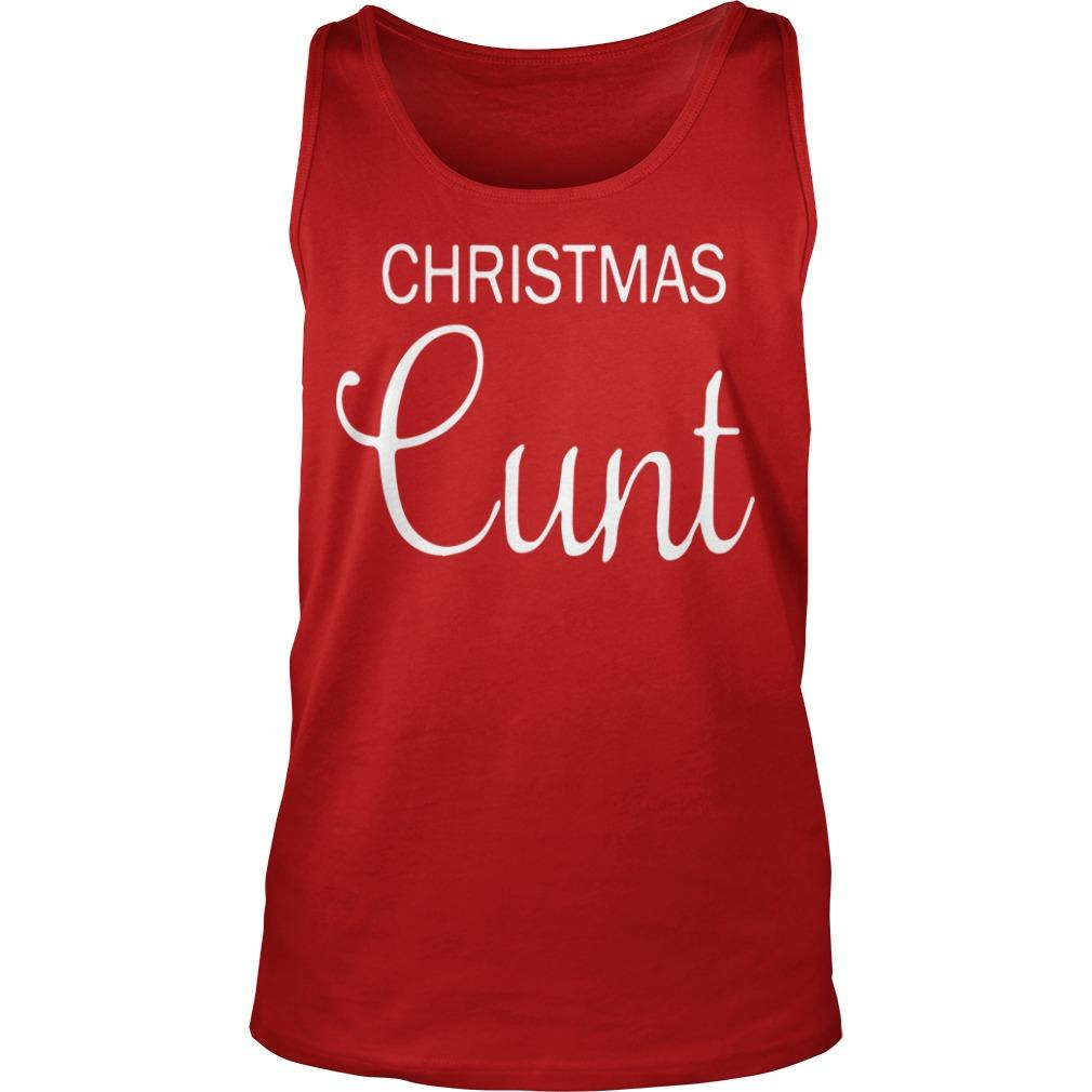 Christmas Crude Stuff Tank Top