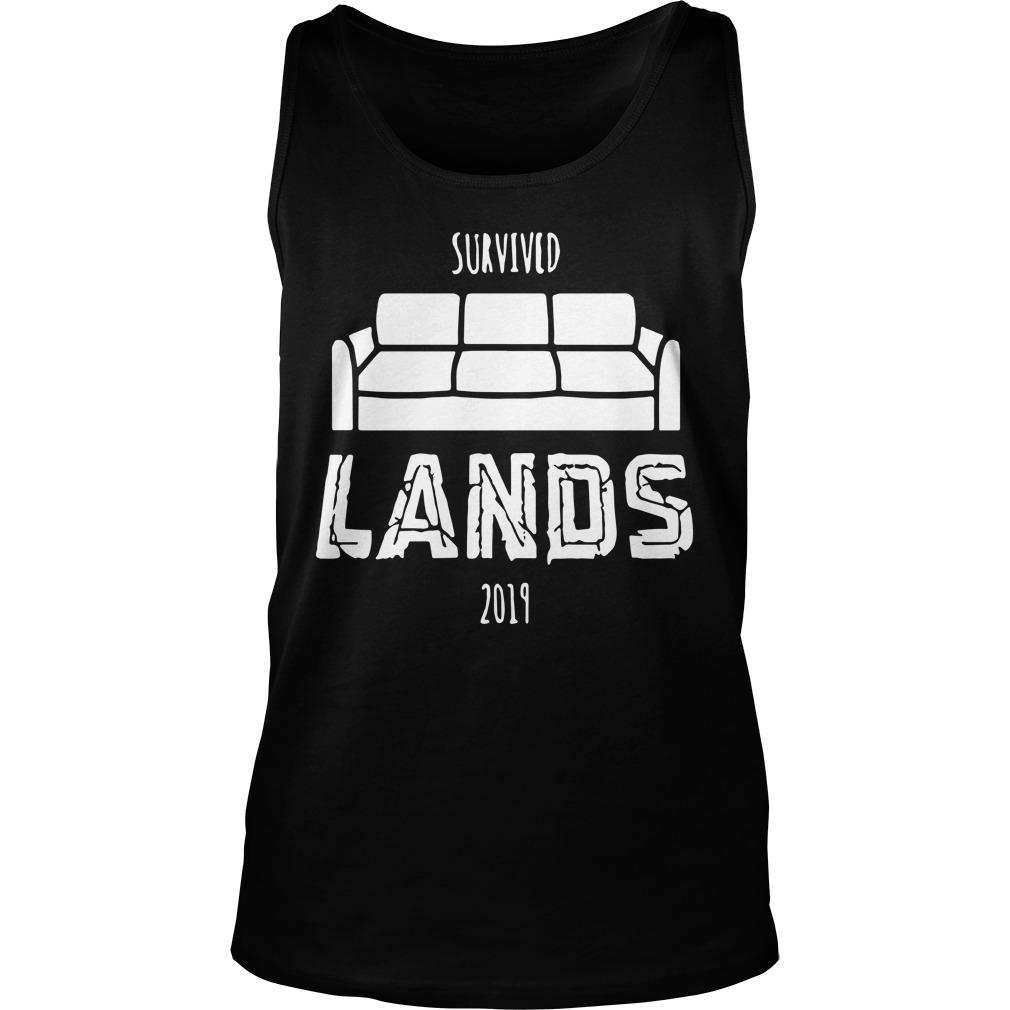 Couch Survived Lands 2019 Tank Top