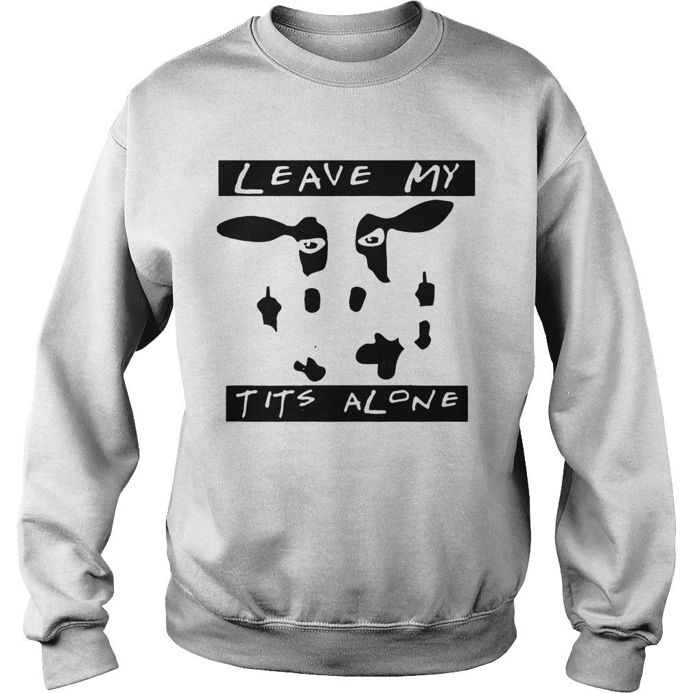 Cow Leave Me Alone Sweater