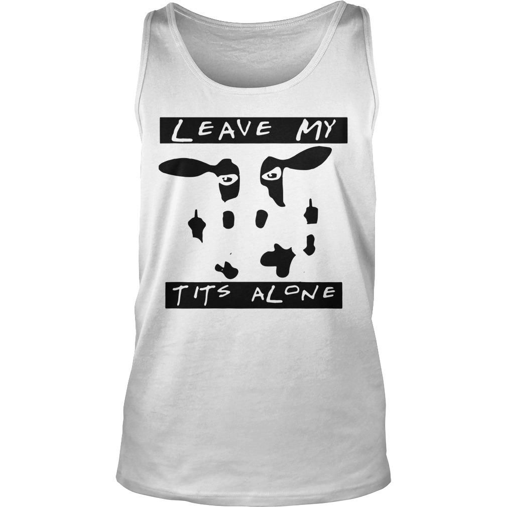 Cow Leave Me Alone Tank Top