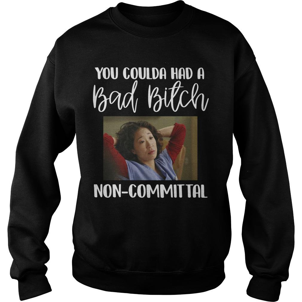 Cristina Yang You Coulda Had A Bad Bitch Non Committal Sweater