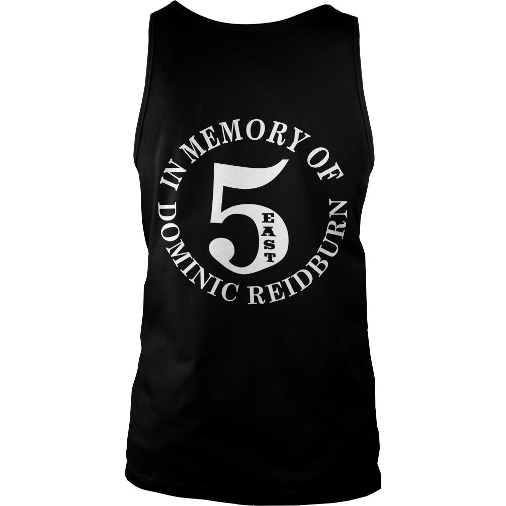 East Side Legend In Memory Of Dominic Reidburn Tank Top