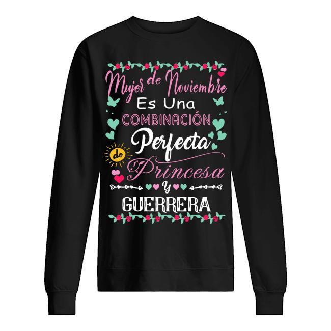 Es Una Combinación Perfecta Princesa Guerrera Sweater