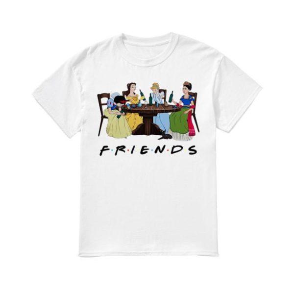 Frida Kahlo Disney Princess Drinking Tv Show Friends Shirt
