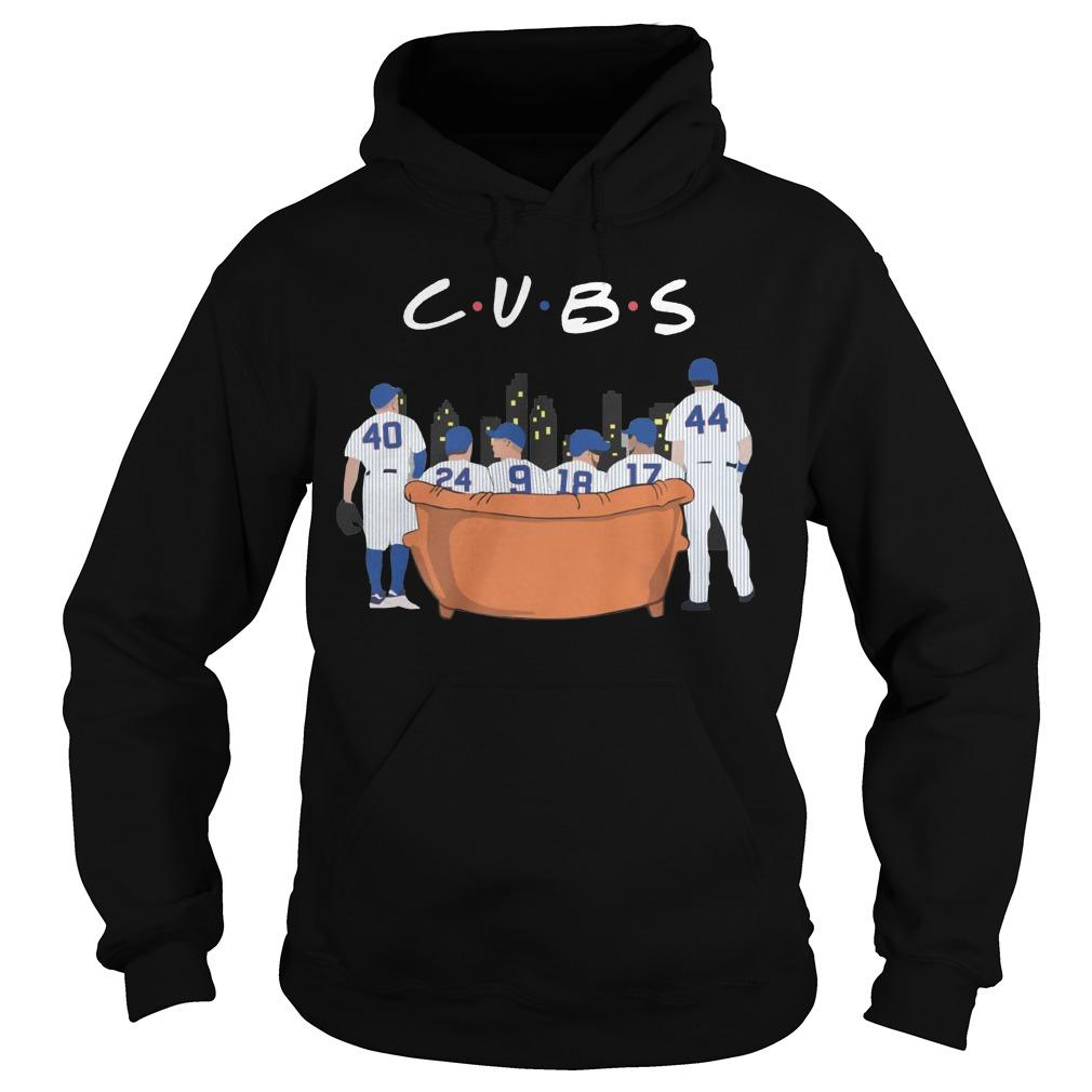 Friends Tv Show Chicago Cubs Hoodie