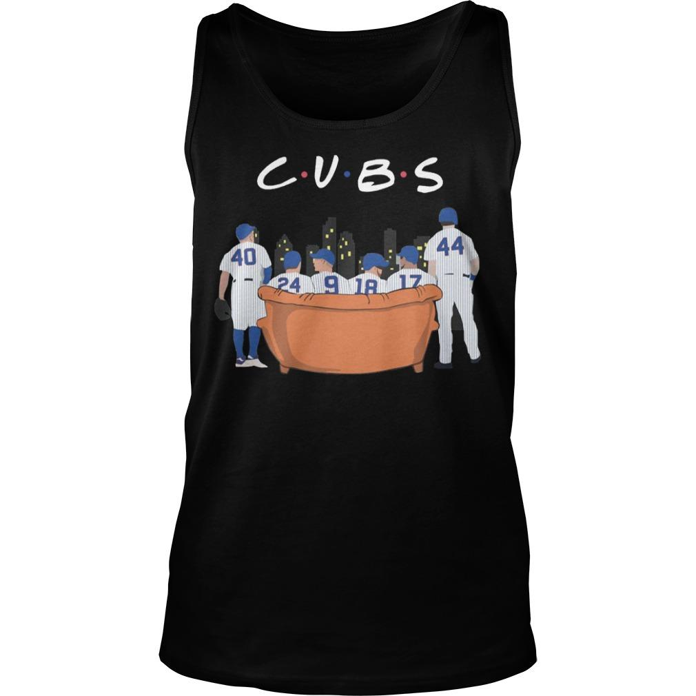 Friends Tv Show Chicago Cubs Tank Top