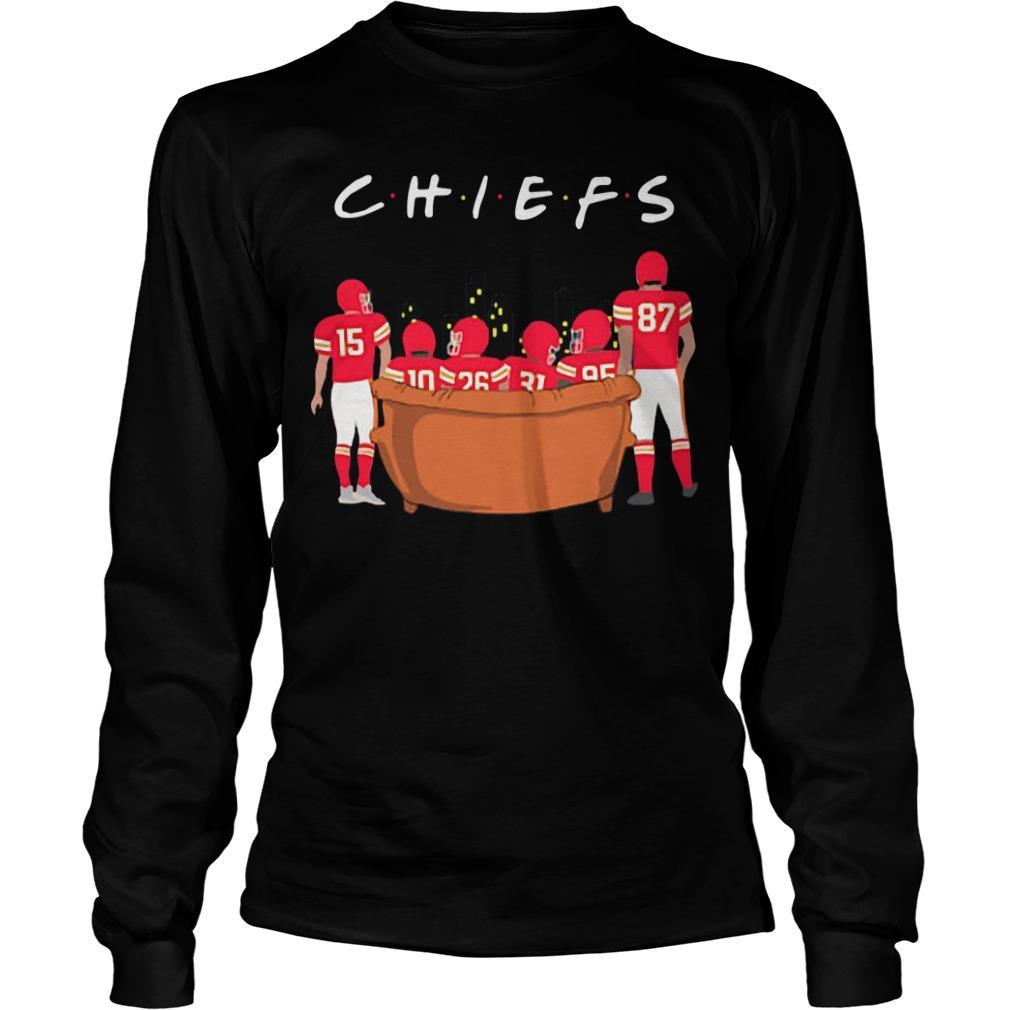 Friends Tv Show Kansas City Chiefs Longsleeve