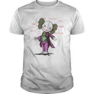 Halloween Joker Kaws Shirt