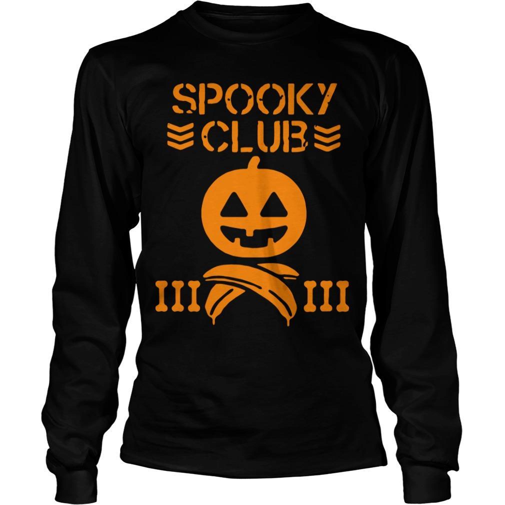 Halloween Spooky Club Longsleeve