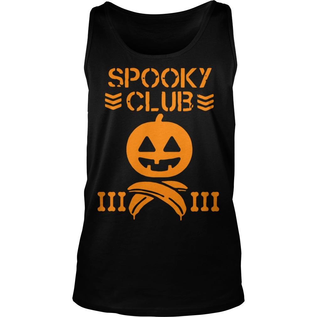 Halloween Spooky Club Tank Top