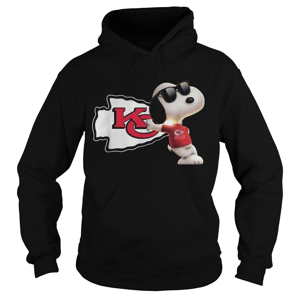 Kansas City Chiefs Snoopy Hoodie
