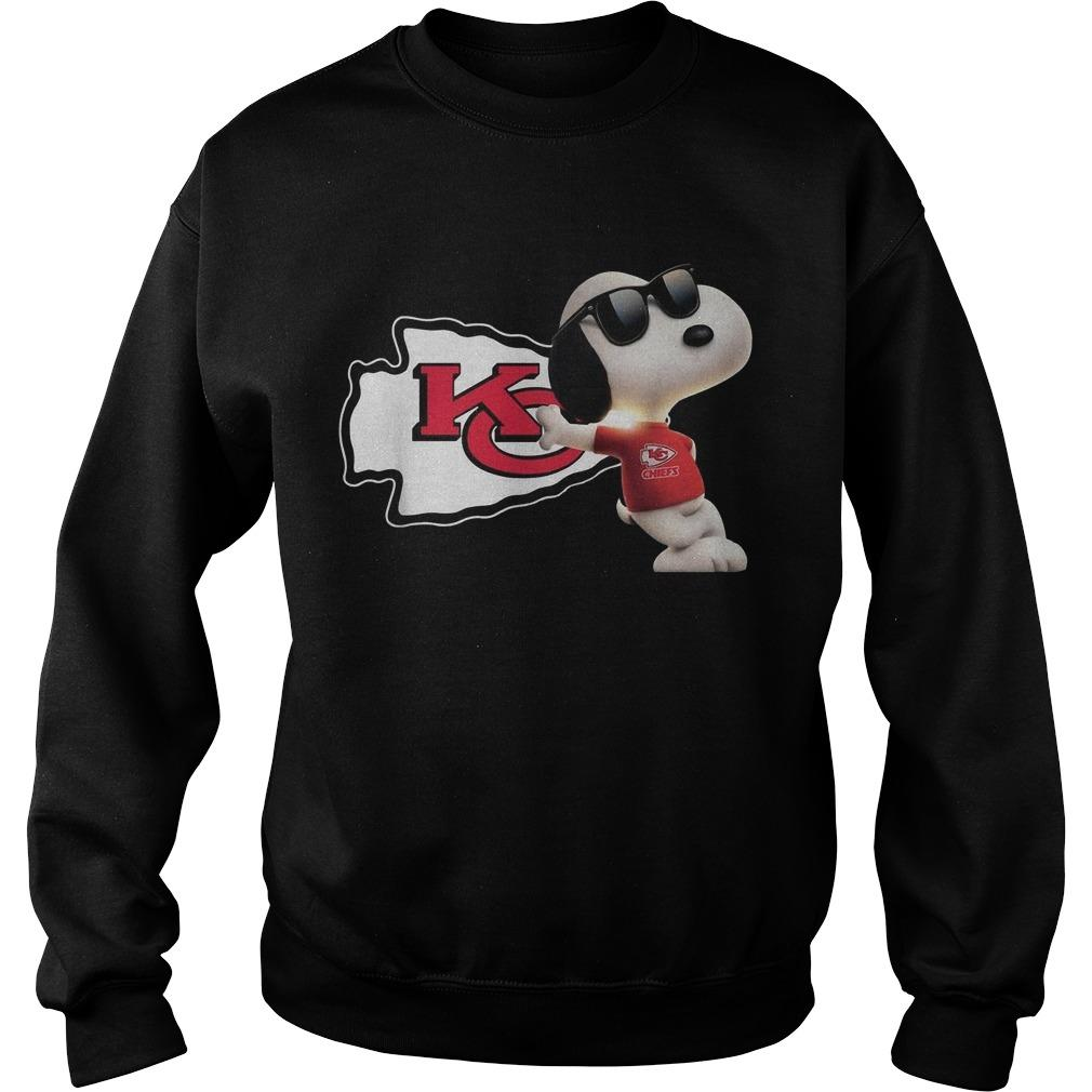 Kansas City Chiefs Snoopy Sweater