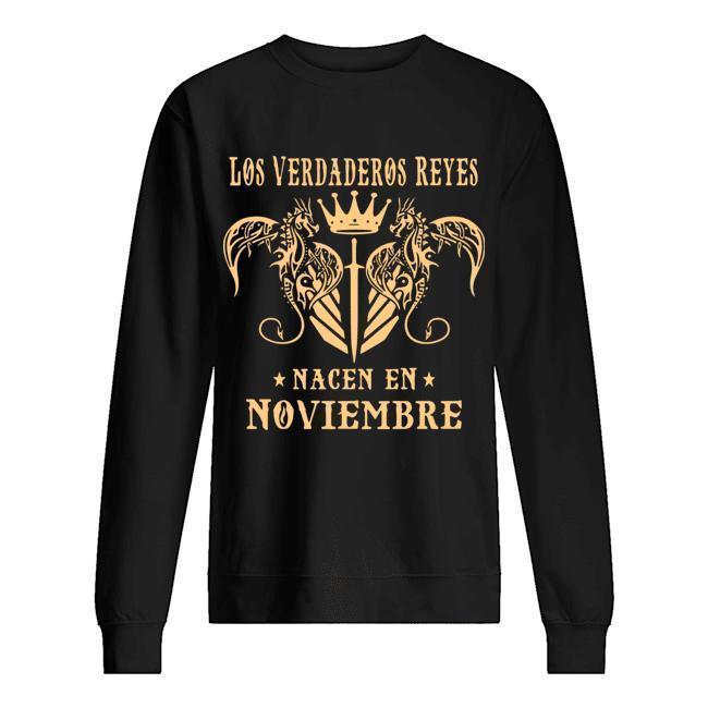 Los Verdaderos Reyes Nacen En Noviembre Sweater