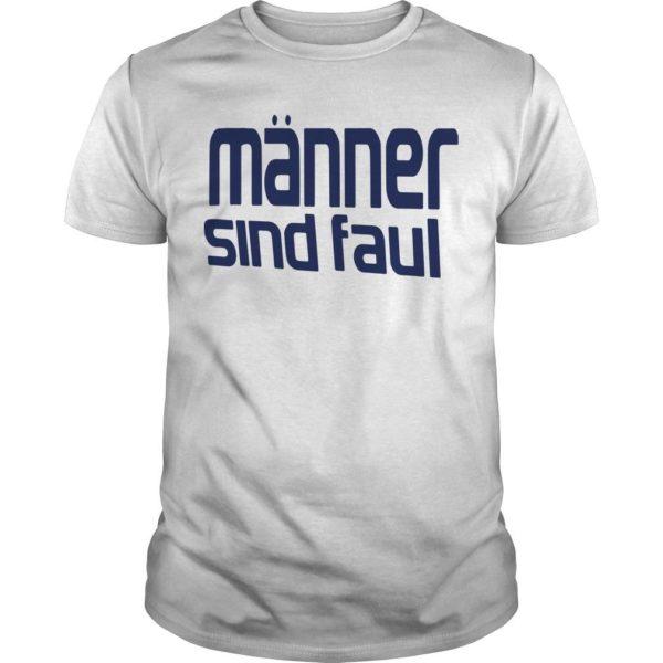 Mario Barth Review Manner Sind Faul Mario Barth T Shirt