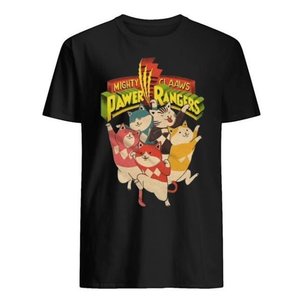 Mighty Claaws Pawer Rangers Shirt