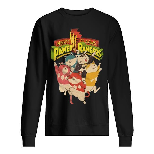 Mighty Claaws Pawer Rangers Sweater