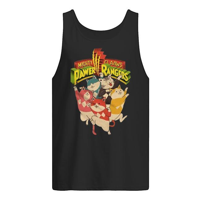 Mighty Claaws Pawer Rangers Tank Top