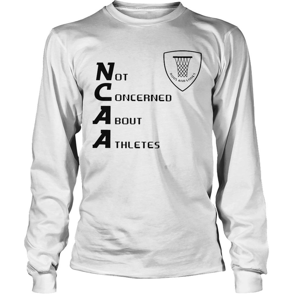 Not Concerned About Athletes Longsleeve