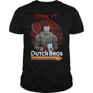 Pennywise Drink IT Dutch Bros Coffee Shirt
