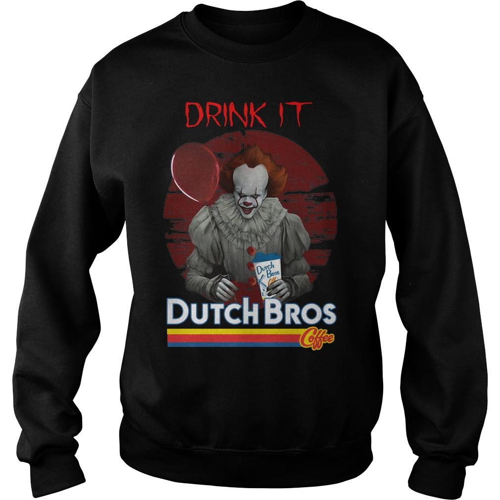 Pennywise Drink IT Dutch Bros Coffee Sweater