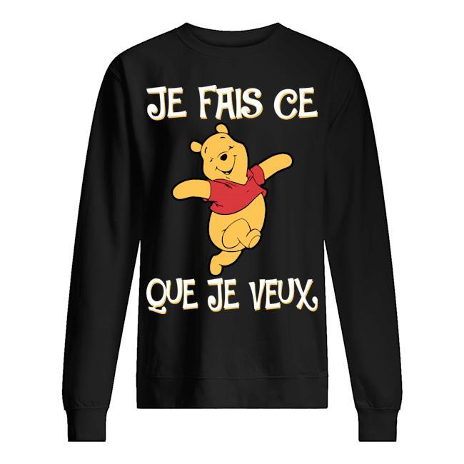 Pooh Je Fais Ce Que Je Veux Sweater