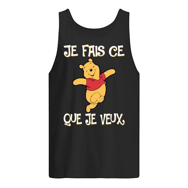 Pooh Je Fais Ce Que Je Veux Tank Top