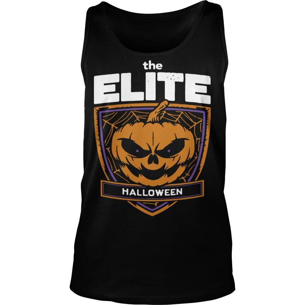 Pumpkin The Elite Halloween Tank Top