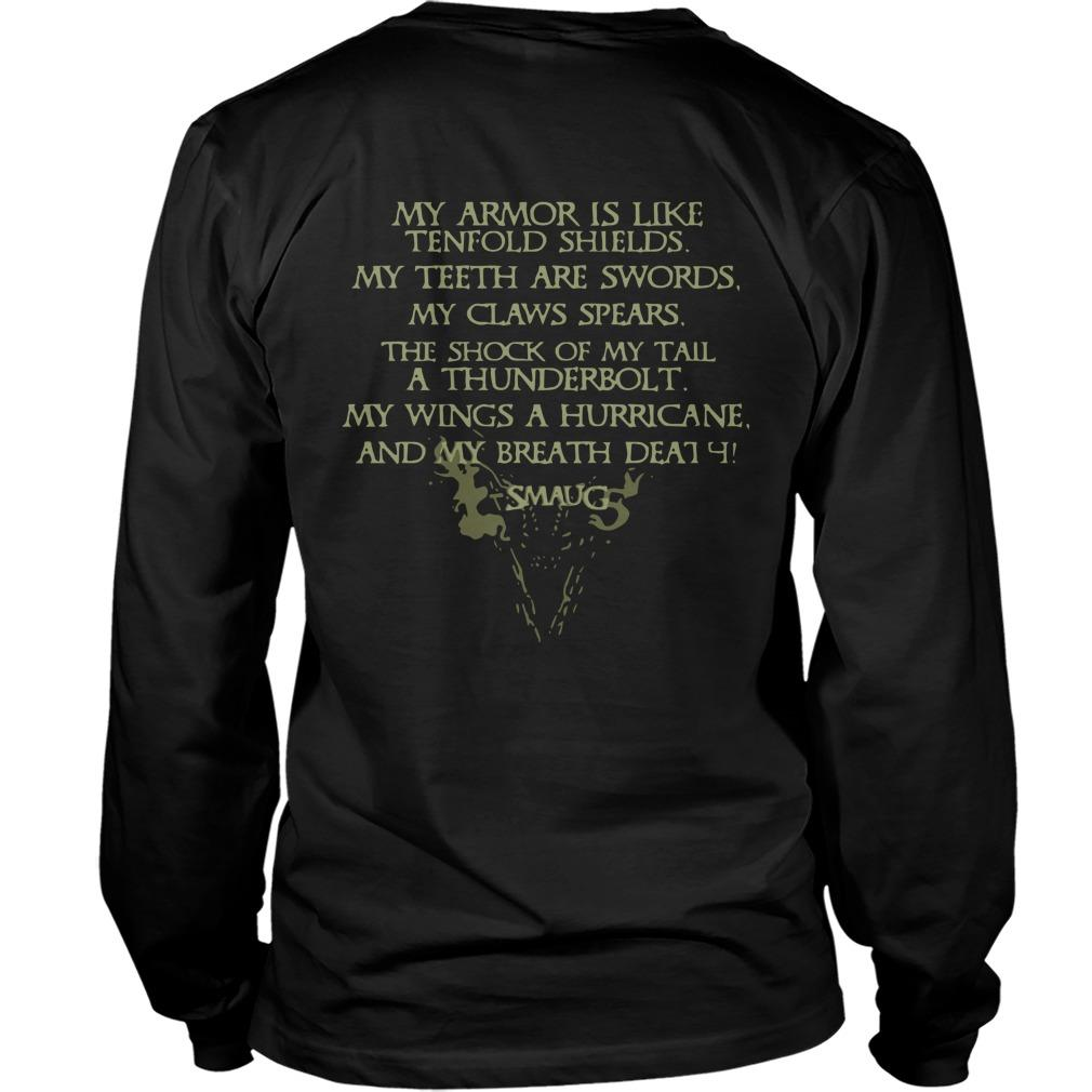 Smaug My Wings A Hurricane My Breath Death Longsleeve